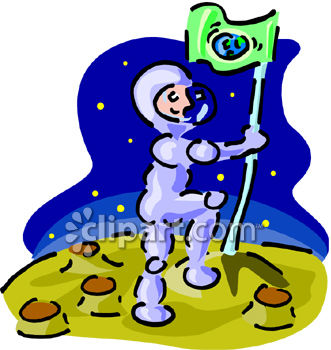 Man In The Moon Clipart.