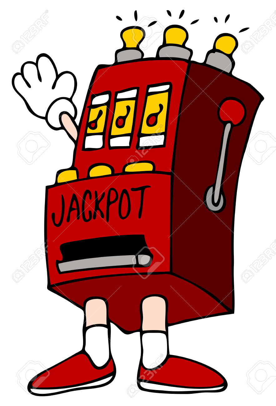 Showing post & media for Cartoon slot machine clip art.