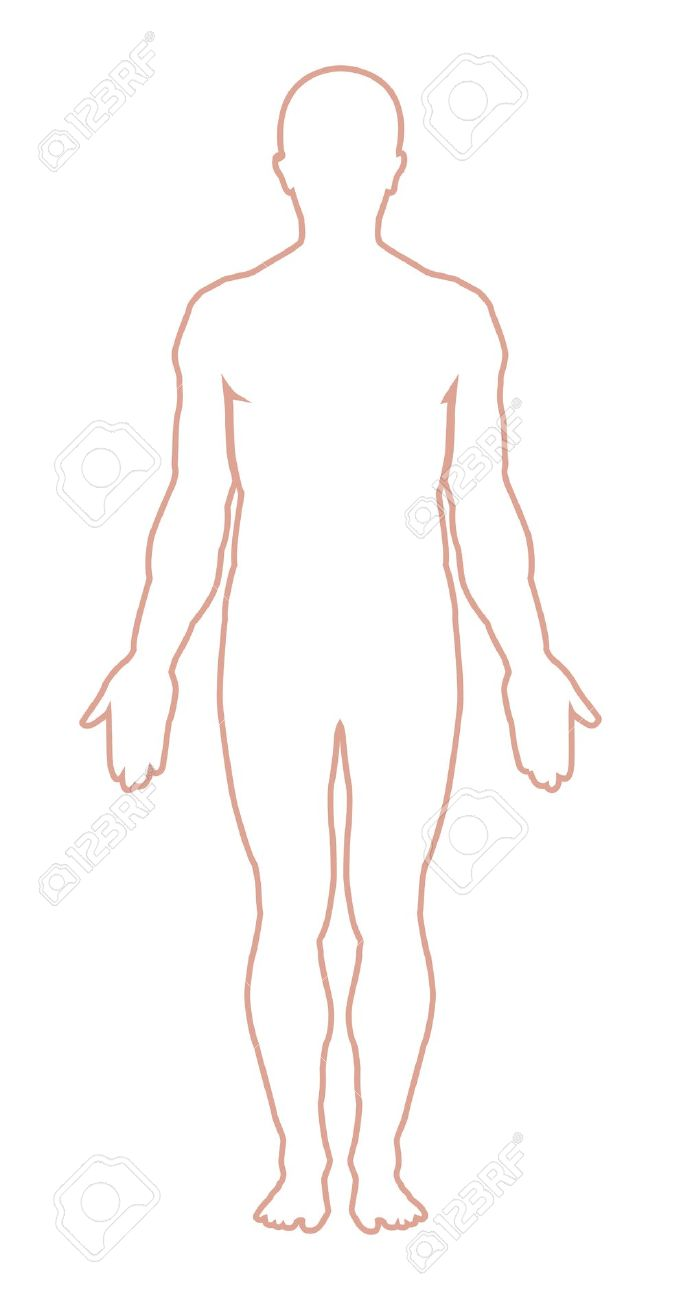Man Body Outline Clipart 1 0.