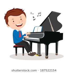 Man playing piano clipart 1 » Clipart Station.