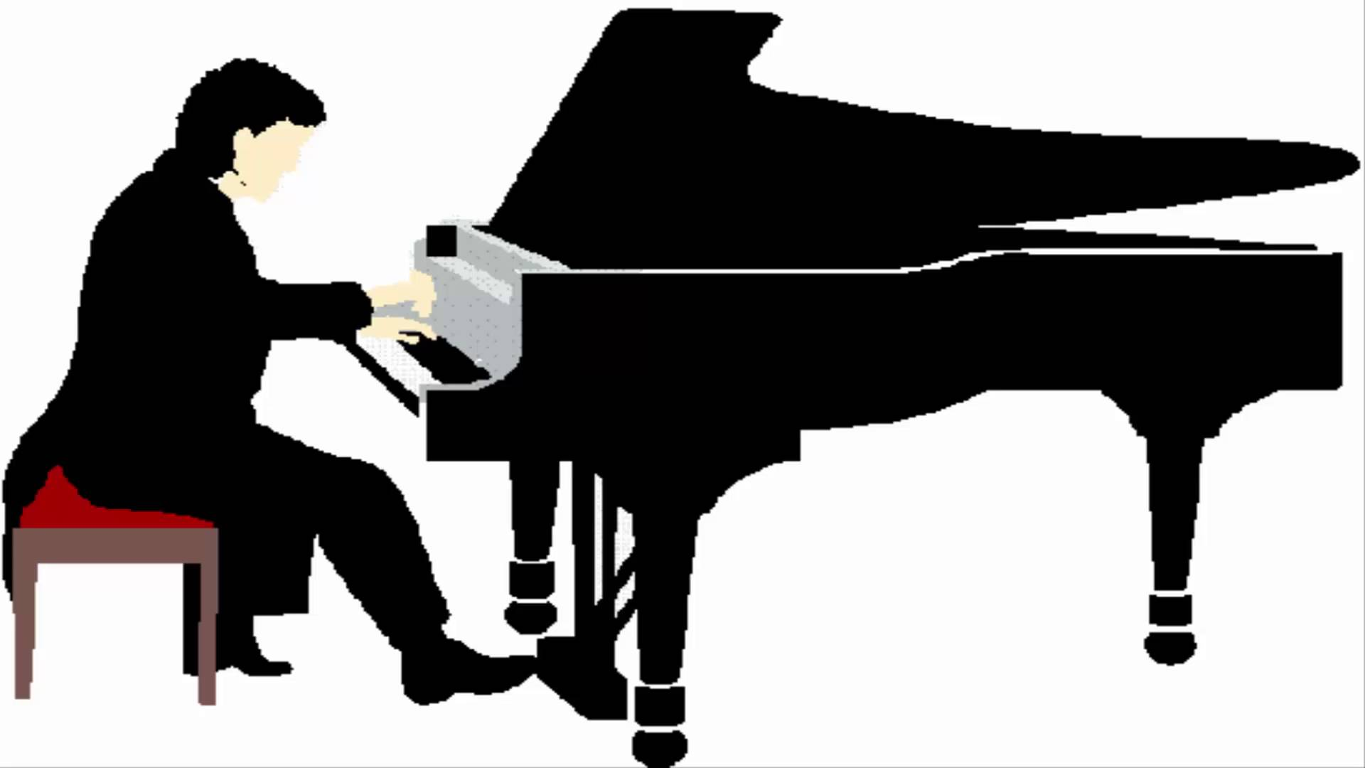 Pianist Clipart.