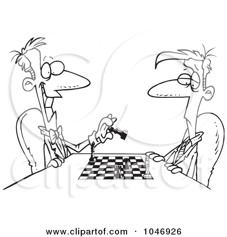 Showing post & media for Cartoon guy playing chess.