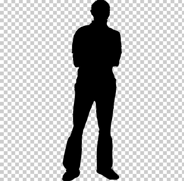 Silhouette Man Person PNG, Clipart, Black And White.