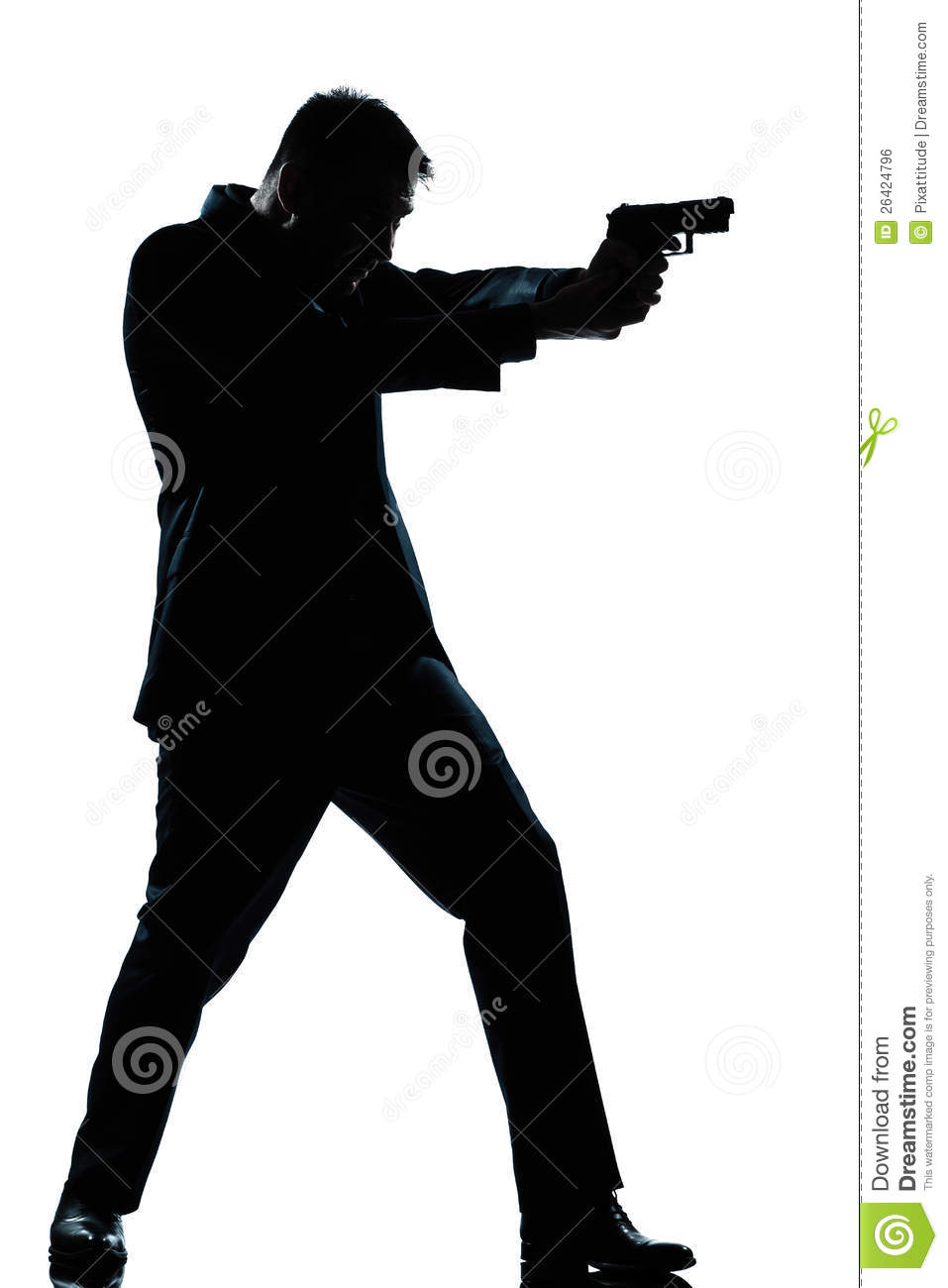 man pointing a gun clipart - Clipground