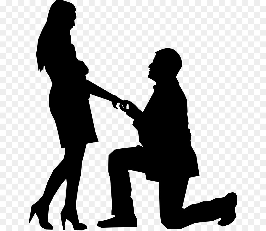 Marriage Cartoon png download.
