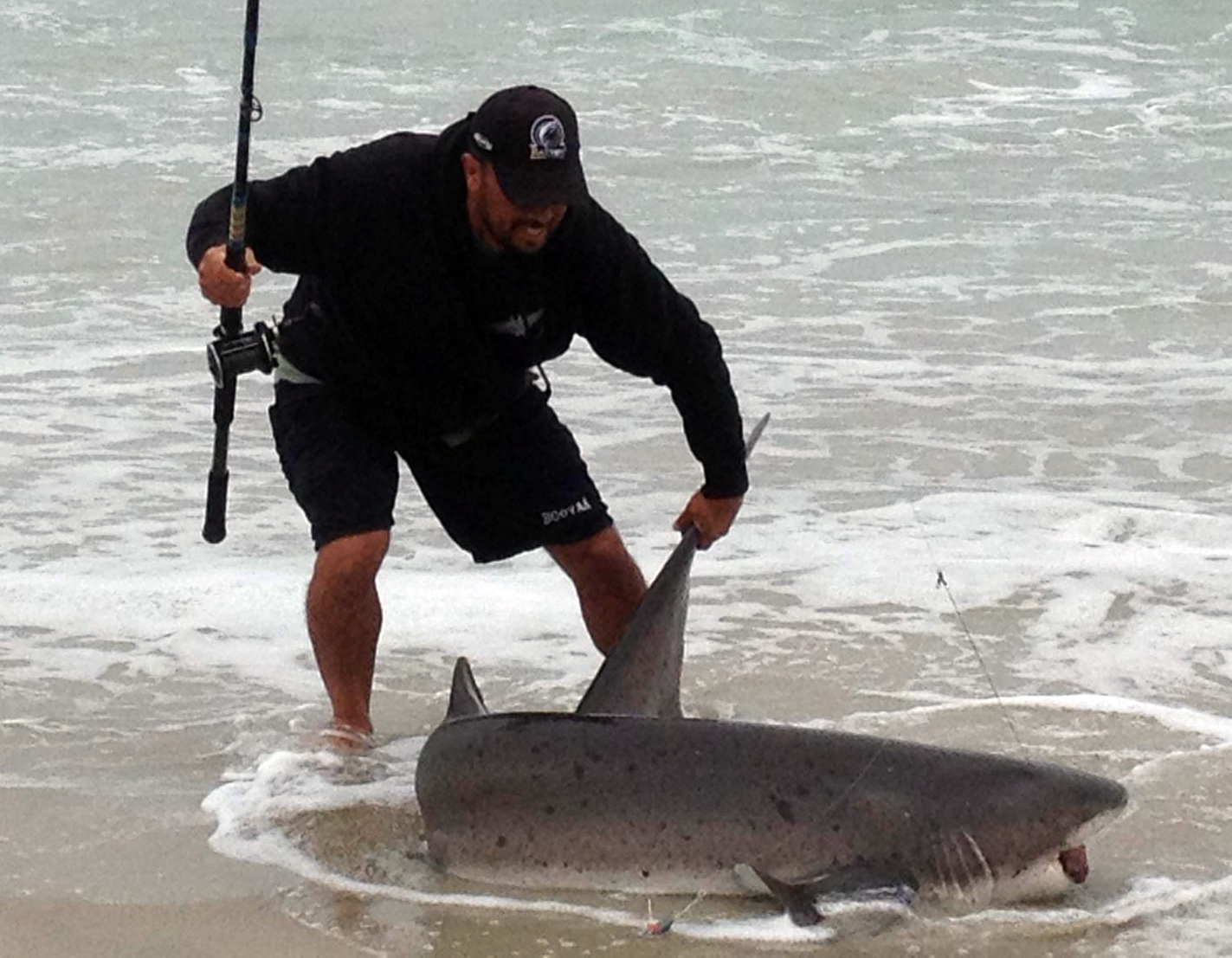 Big Game SoCal Surf Fishing.