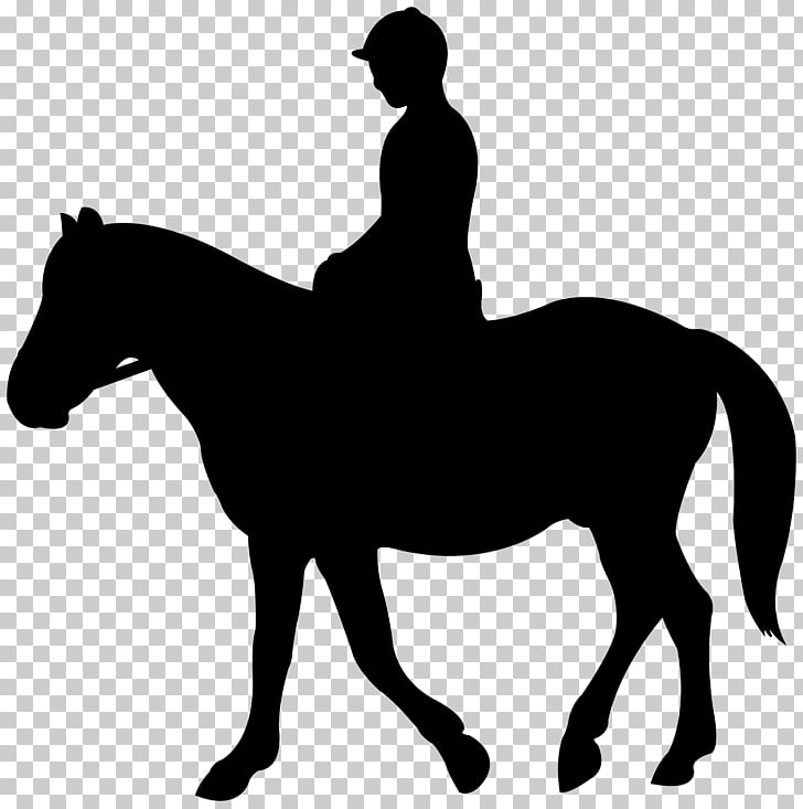 Jockey Silhouette Horse English riding , Jockey Silhouette.