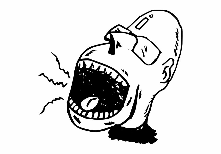 Original Png Clip Art File Screaming Person Svg Images.
