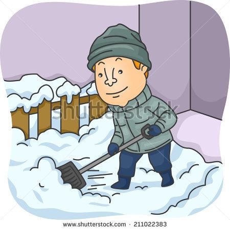 Showing post & media for Cartoon boy shoveling snow clip art.