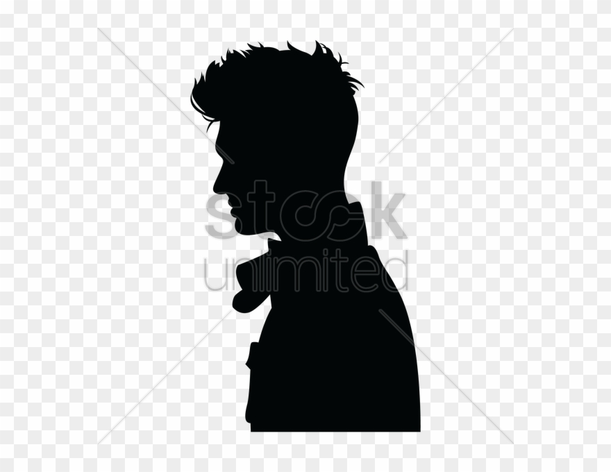Man Side Silhouette Clipart Silhouette Clip Art.