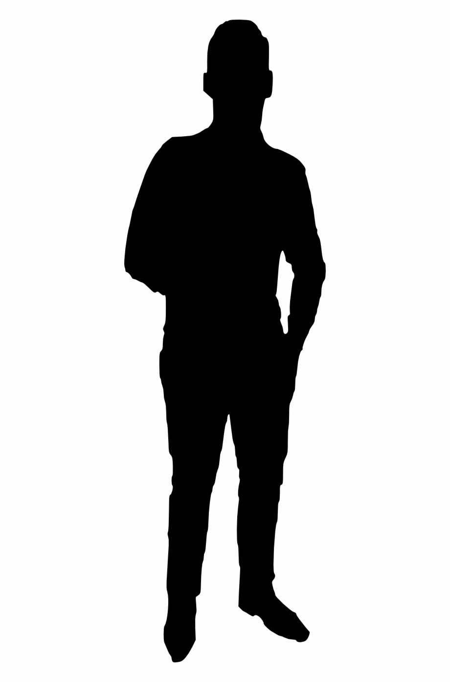 20 Man Silhouette.