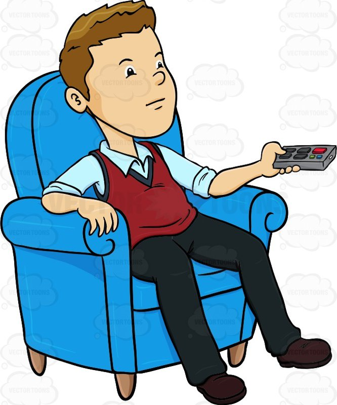 Person Sitting Clipart.
