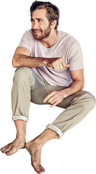 Man Sitting (PNG).