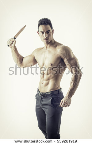 Stabbing Stock Images, Royalty.