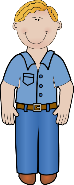 Clip art man standing clipart images gallery for free.