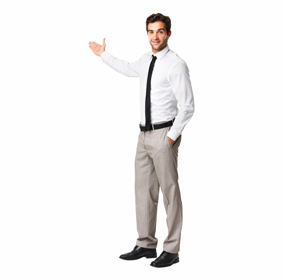 Man Standing And Speaking Free PNG Images & Clipart Download.