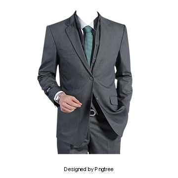 Men Suit PNG Images.
