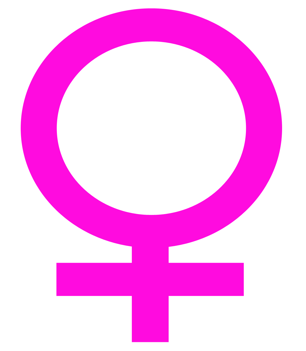 Woman Symbol Transparent Clipart.