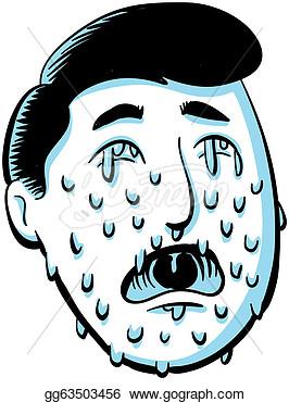 Man Tears Clipart.