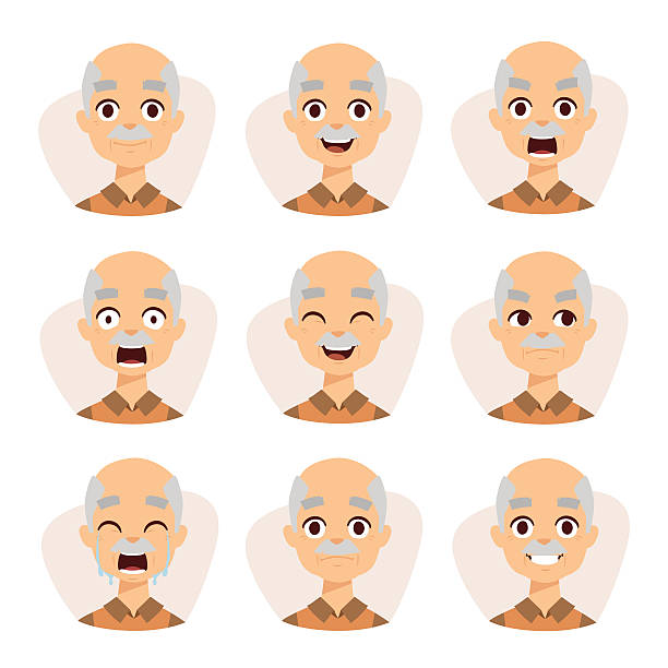 Old Man Tears Clip Art, Vector Images & Illustrations.