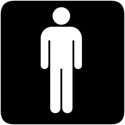 Man On Toilet Clip Art.