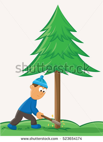 Tree Cutting Stock Images, Royalty.