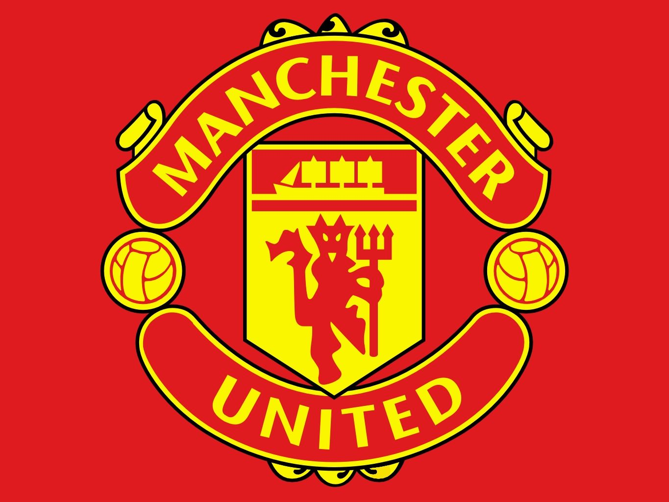 Color of the Manchester United Logo.