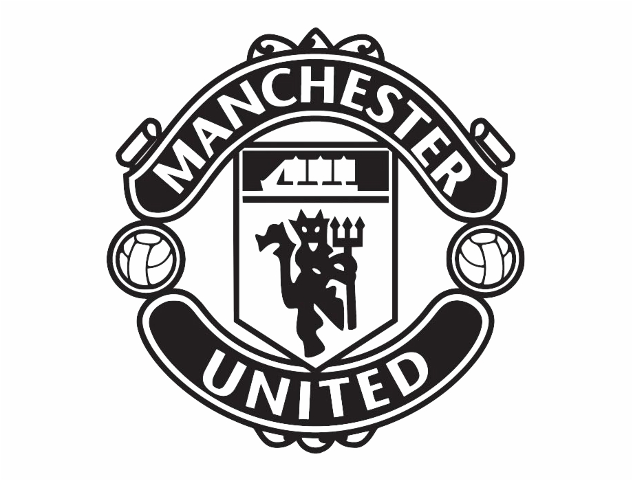 Manchester United Black Logo Free PNG Images & Clipart.