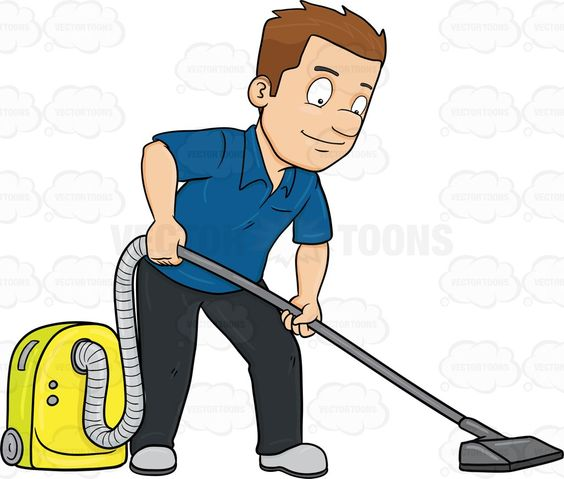 Vacuum Cleaner Clipart.