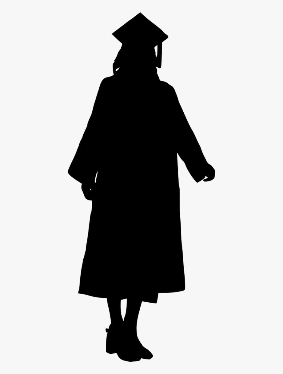 Female Graduate Silhouette.