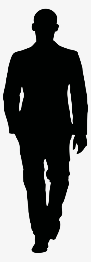 Man Walking Silhouette PNG Images.