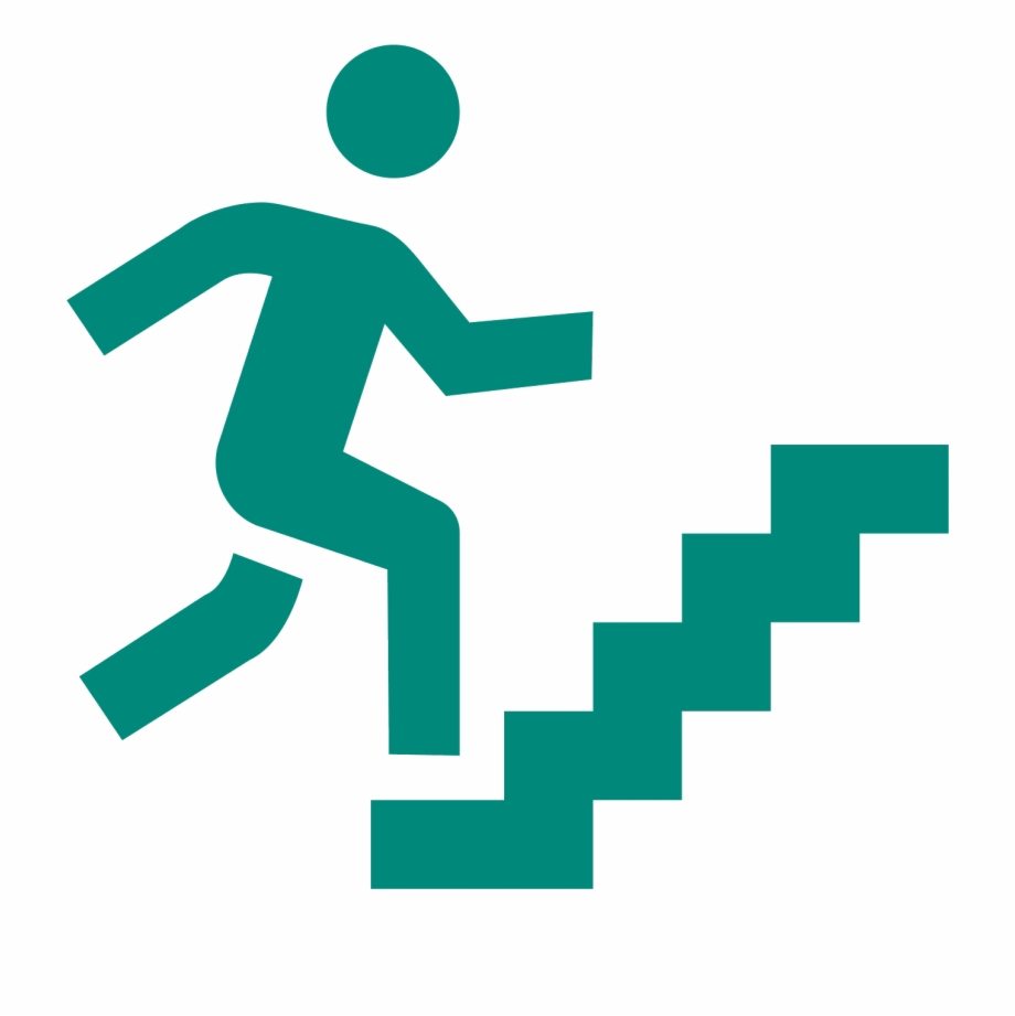 Man Climbing Stairs Clipart, Transparent Png Download For.