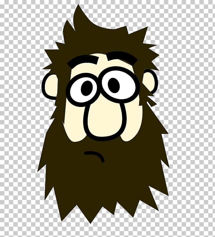 Beard Man , bearded PNG clipart.