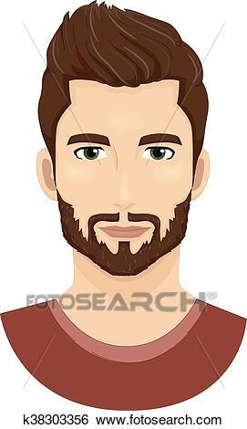Man Beard Clip Art.