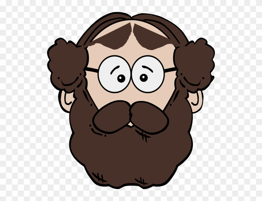 Person With Beard Clipart.