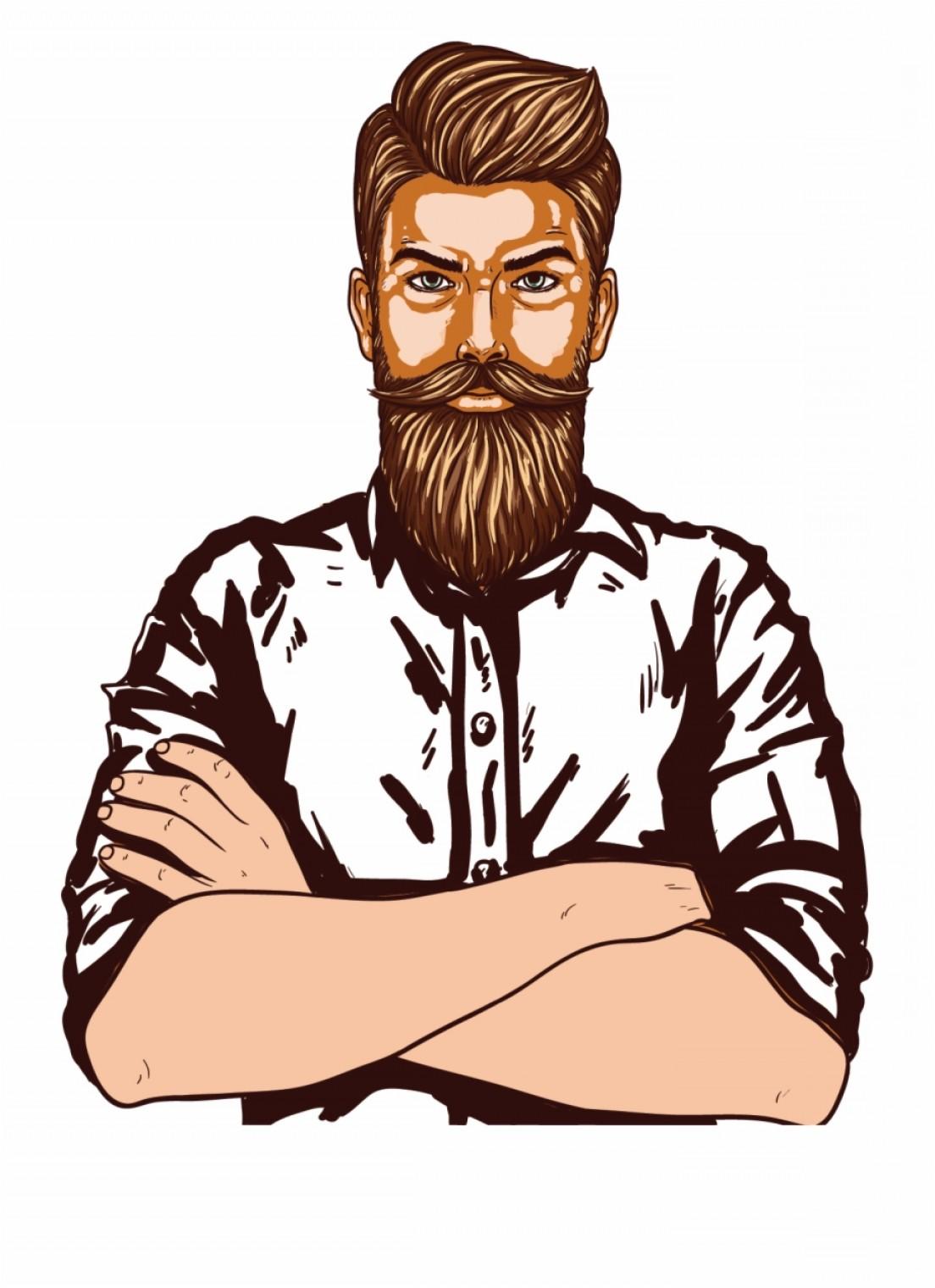 Irojtojman Page Man Vector Beard Man Clipart Images.