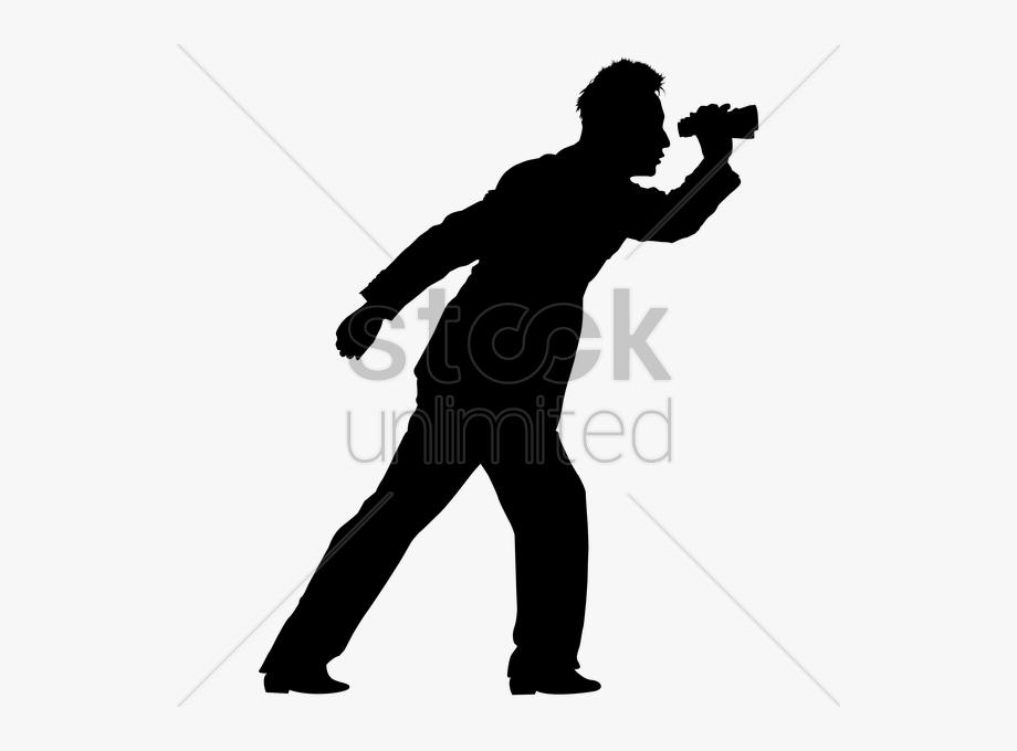 Guy With Binoculars Clipart Clip Art.