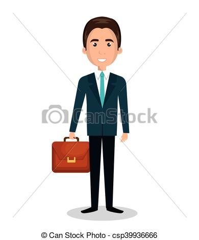 Man with briefcase clipart 1 » Clipart Portal.