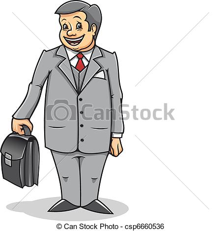 Man with briefcase Clip Art Vector and Illustration. 4,492.