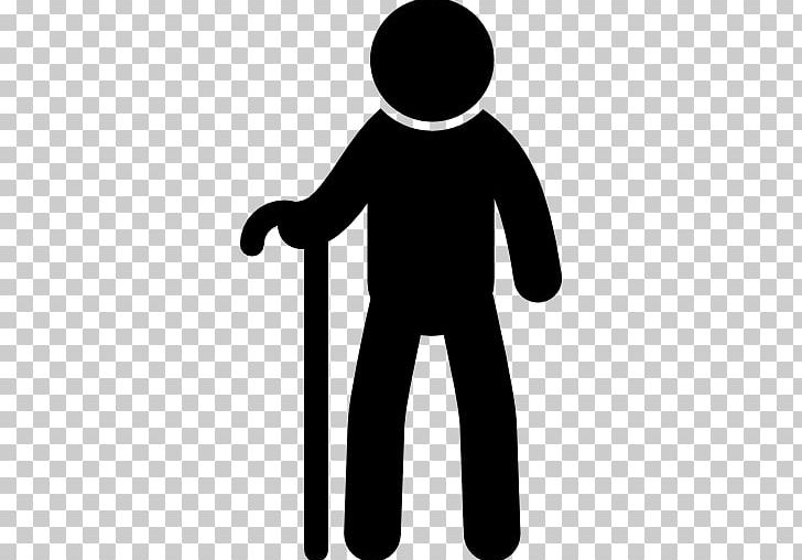 Old Age Walking Stick Silhouette Man PNG, Clipart, Animals.