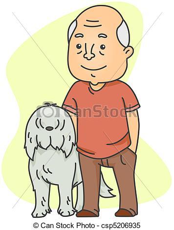 Man dog Illustrations and Clipart. 5,341 Man dog royalty free.