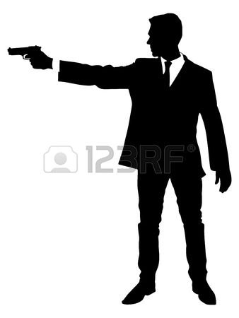 2,022 Holding Weapon Stock Vector Illustration And Royalty Free.