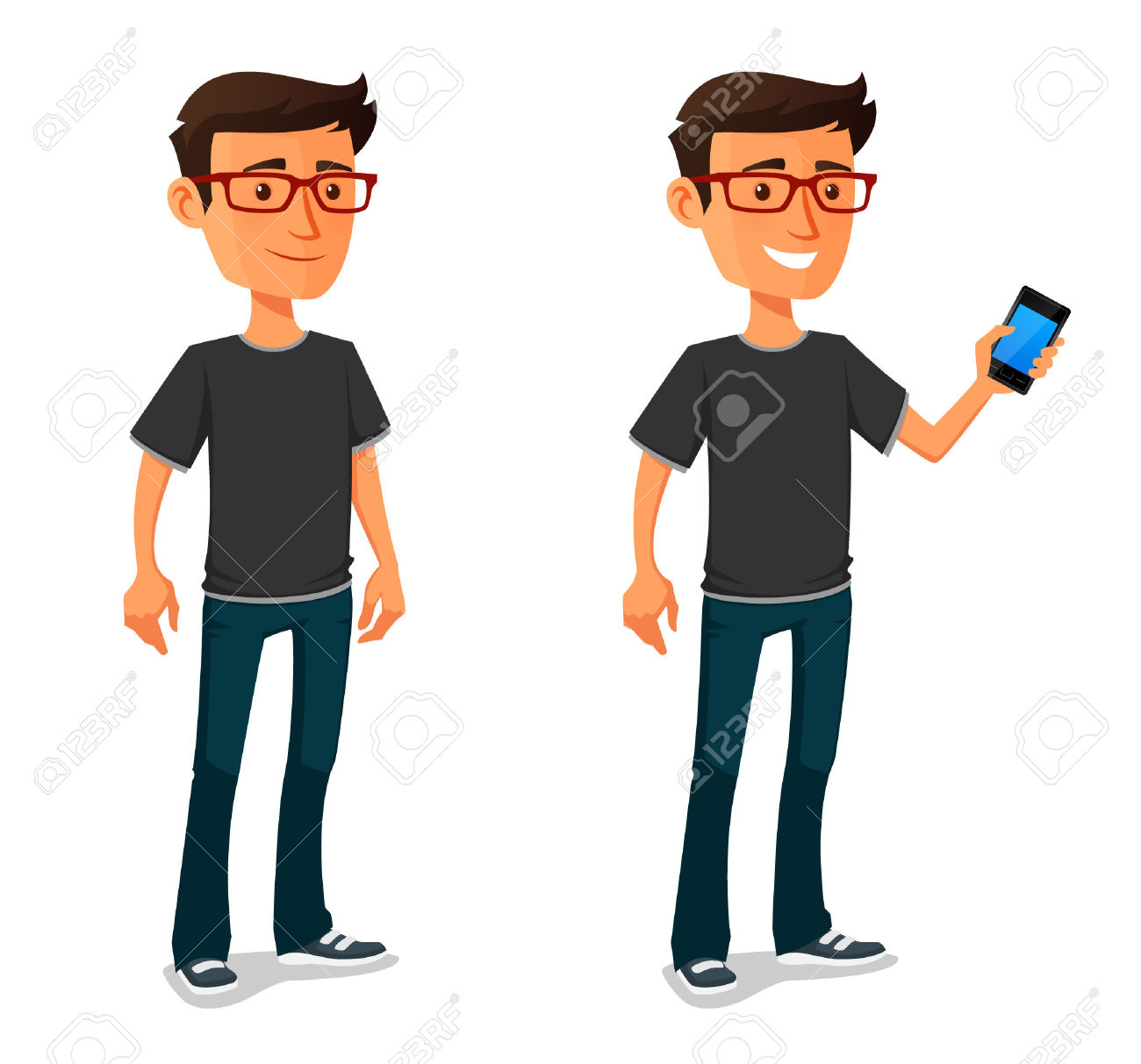 10,894 Man Smart Phones Stock Illustrations, Cliparts And Royalty.
