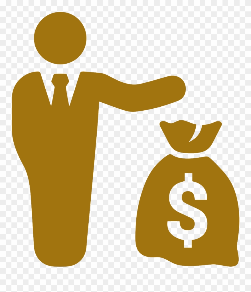 Man With Money Icon Clipart (#3930726).