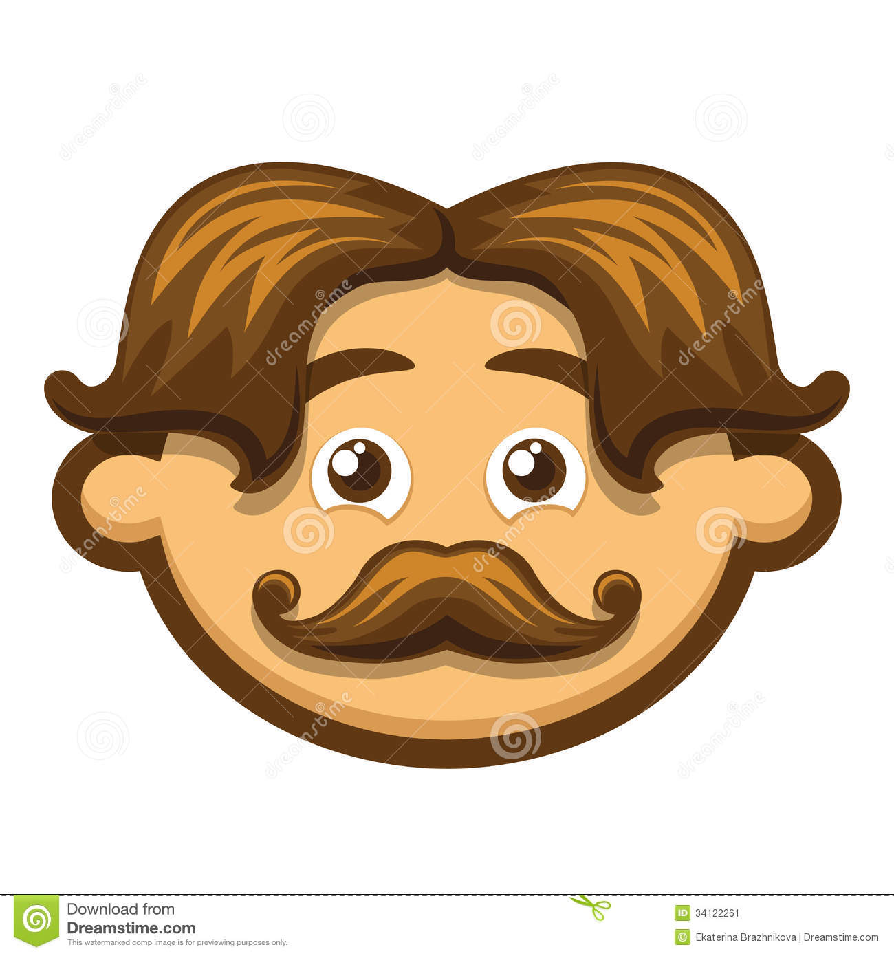 Showing post & media for Cartoon man with moustache.