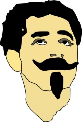 Mustache Clip Art, Vector Mustache.