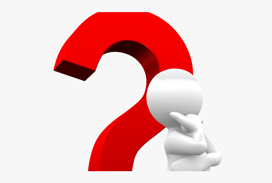 Man With Question Mark Png , Transparent Cartoon, Free.
