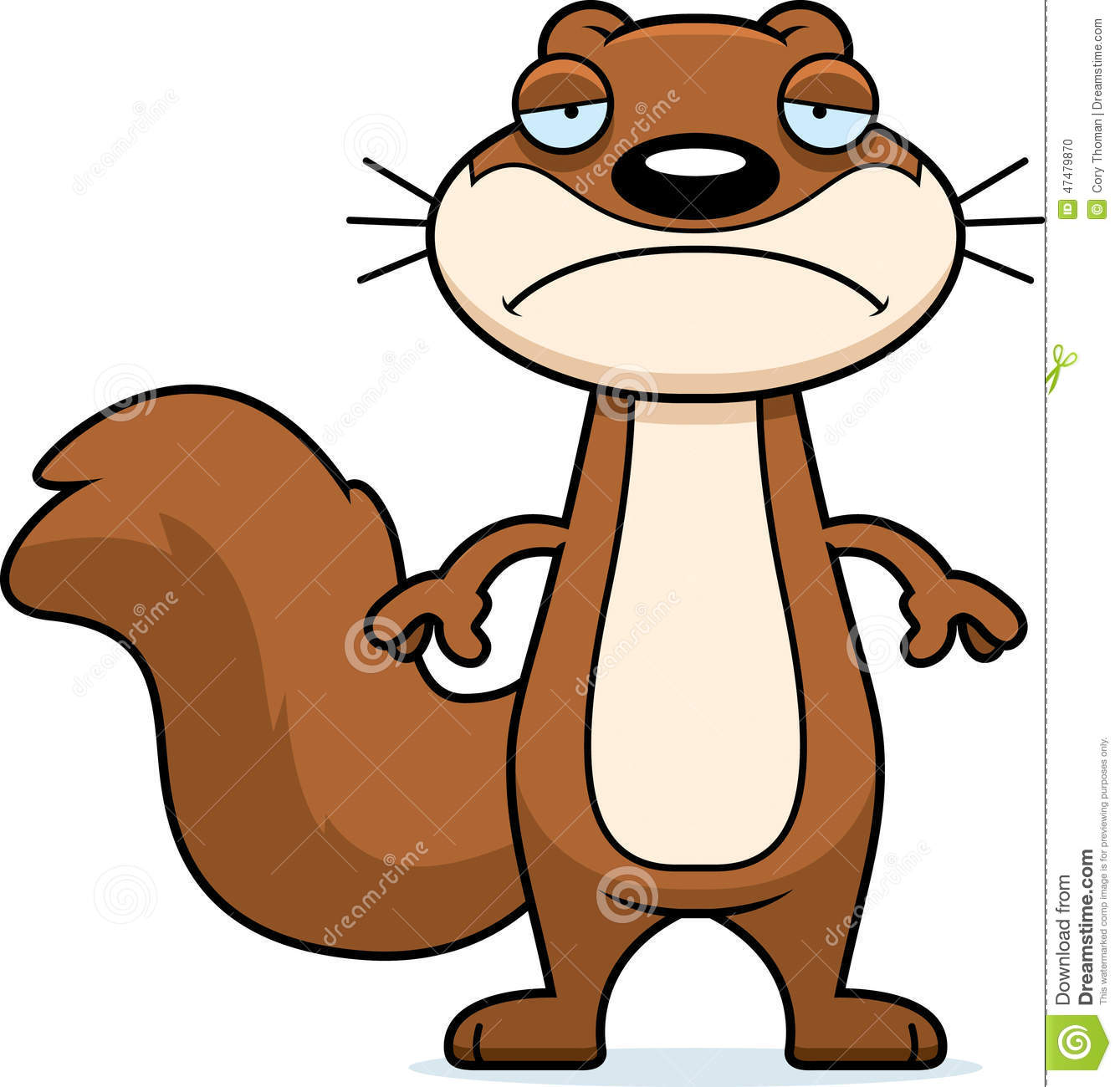 Animated squirrel clipart.