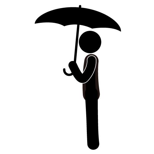 9015 Umbrella free clipart.
