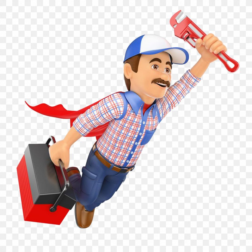 Plumbing Plumber Pipe Wrench Tool Boxes Stock Photography.